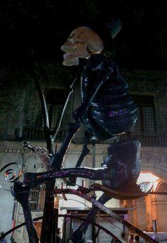 Calavera, caballo, jinete, Ofrenda, altar, mexico, panteon, Offering, skull, dia de muertos, ciclista, cyclist, rider