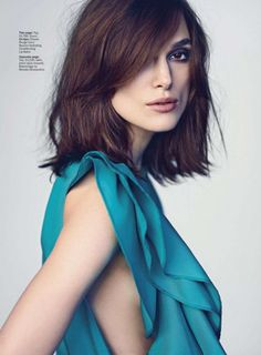 """Keira Knightley photographed by Nathaniel Goldberg in a photo shoot for """"Marie Claire"""" US magazine march 2013......"""