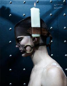 'Bondage Warriors', by Steven Klein & Nicola Formichetti for Vogue Hommes Japan, September 2009.