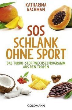 """""""SOS Schlank ohne Sport"""" von Katharina Bachman, erschienen im Goldmann Verlag."""