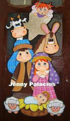 Christmas Nativity, Christmas Wood, Christmas Crafts, Christmas Decorations, Christmas Ornaments, Foam Crafts, Diy And Crafts, Crafts For Kids, Paper Crafts