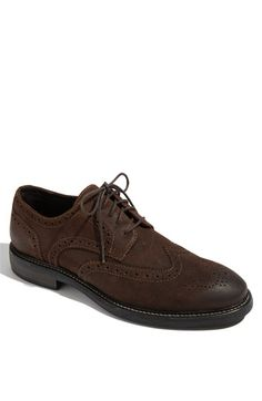 Love it! Classy, stylish brown oxford wingtip with burnished toe.. easily dressed up or down and only $99.95  Nordstrom.com