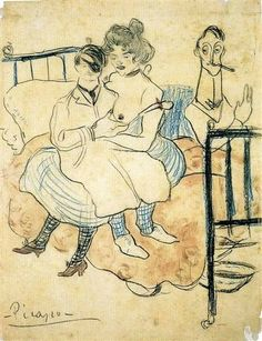 Pablo Picasso And Sebastìa Junyer-Vidal Arrives To Paris 1901   Pablo Picasso