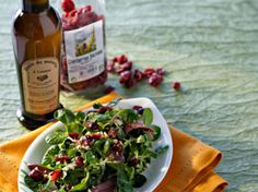 Salade d'épinards au magret et aux noisettes, facile et pas cher
