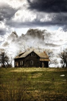 """♂ Aged with beauty old farm house """"the upside"""" by Caroline"""