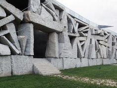 SGAE HQ, #Spain by Ensamble Studio #stone #architecture