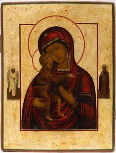 Богородица Феодоровская, 19 в., Россия, частное собрание