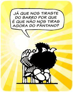 Camisetas da Mafalda