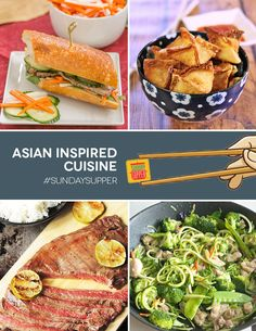 Asian Inspired Cuisi