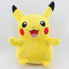 "Pokemon 13""/33cm Big Pikachu Figure Plush Toy Stuffed Animal Cuddly Pichu Doll #Nintendo"
