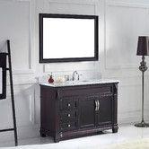 "Found it at Wayfair - Victoria 49"" Single Bathroom Vanity Set with Mirror"