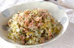 カツオチャーハンのレシピ・作り方 - 簡単プロの料理レシピ | E・レシピ
