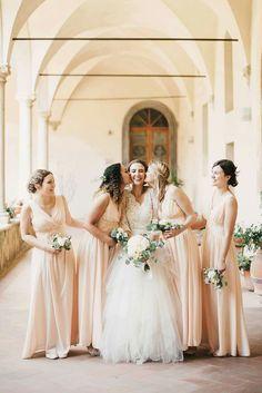 group wedding bridesmaids