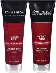 John Frieda Radiant Red Colour Protecting DUO set Shampoo  Conditioner 845 Ounce 1 each ** Click image for more details.(It is Amazon affiliate link) #40likes