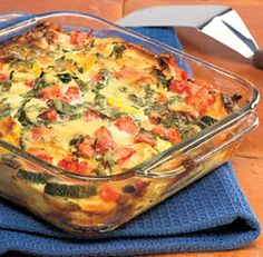Summer Vegetable Strata