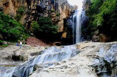 Cascada de Los Alisos, Calvillo Aguascalientes  Fotografía de @TurismoVerde     #Aguascalientes    #Calvillo