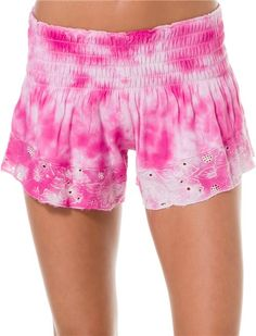 Billabong shorts @SWELL Style http://www.swell.com/Womens-Shorts-Rompers/BILLABONG-GARDEN-DAISY-SHORT?cs=PI
