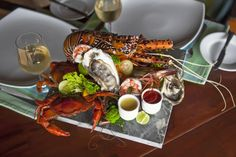 Succulent Seafood at the Cove Paella, Chicken Wings, Buffet, Seafood, Cheese, Table Decorations, Ethnic Recipes, Sri Lanka, Google Search