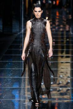 Balmain Catwalk Fashion Show Paris Womenswear FW2017