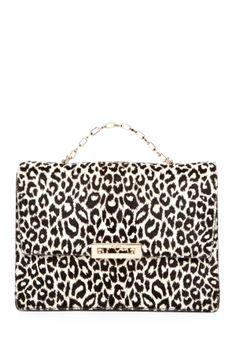 Valentino Animal Print Flap Shoulder Bag