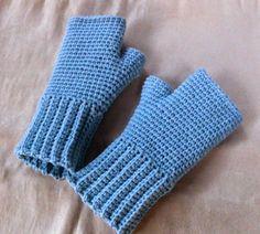 Moje tvořeníčko...: Bezprstové rukavice