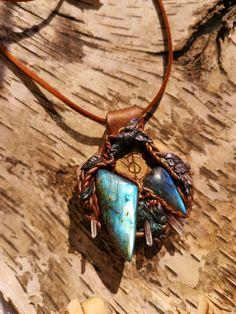 Baldur Amulet of Protection Norse Mythology Old Gods Pagan Witchy Labradorite Quartz Point Unisex Gift Magick Magic Crystal Witchcraft Magic Gifts For Teens, Gifts For Wife, Gifts For Her, Teen Gifts, Magic Crafts, Art Crafts, Norse Names, Wedding List, Dream Wedding