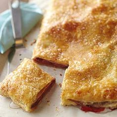 Berry Slab Pie. From Better Homes and Gardens, ideas and improvement projects for your home and garden plus recipes and entertaining ideas./