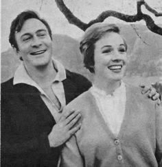 """Julie Andrews and Christopher Plummer rehearsing for """"The Sound of Music."""""""