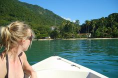 Day Tour from Rio de Janeiro to Ilha Grande If you are in Rio de Janeiro and you only have one day to visit Ilha Grande we can help you out! This tour leaves from your hotel in Rio de Janeiro really early in the morning and already has the boat tickets included.We will pick you up at 5:30am at your hotel in Rio de Janeiro. The trip takes two hours to Mangratiba and there our team will arrange your connection to Vila do Abraão on the island.You will arrive on the Ilha Gr...
