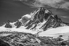 Aiguille du Chardonnet. Aiguille du Chardonnet dominates the Glacier du Tour. Photo taken from the Aiguillette des Posettes, above Vallorcine by Geir Braathen on 500px.