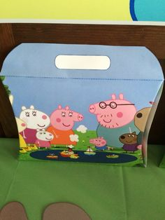 Peppa's party box!