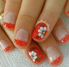 Fancy Nails, Trendy Nails, Cute Nails, Toe Nail Color, Nail Colors, Nail Designs Spring, Nail Art Designs, Nails Design, Hair And Nails