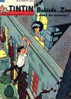 Le Journal de Tintin - Edition Belge - N°  853 - 1963-04 - Mardi 22 Janvier 1963 - Couverture : Greg