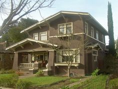 Craftsman two story house