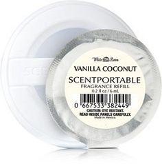 Bath And Body Works Refil Scentportable - Vanilla Coconnut - R$ 29,90