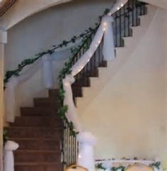 Image detail for -wedding staircase decorations lighting Geek Wedding, Fall Wedding, Our Wedding, Wedding Stuff, Wedding Staircase Decoration, Wedding Decorations, Banisters, Banister Ideas, Wedding Isles