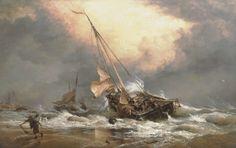 A North Sea breeze on the Dutch Coast.