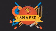 Shape Logo Constructor - Project for After Effects (Videohive) After Effects Intro Templates, After Effects Projects, Motion Design, Motion Graphics, Light In The Dark, Light Colors, Badge, Animation, Shapes