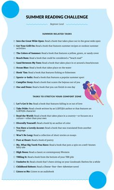 Goodreads Blog Post: Get Ready for the Ultimate Summer Reading Challenge