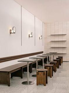 Coffee Shop Interior Design, Italian Interior Design, Coffee Shop Design, Restaurant Interior Design, Cafe Design, Design Design, Cafe Furniture, Furniture Design, Kid Furniture