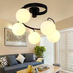 Ceiling Lights & Fans Lights & Lighting Dependable Mediterranean Round Led Ceiling Lamp Male Girl Bedroom Lamp Originality Warmth Modern Simple Childrens Room Lamp