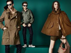 The Burberry Spring/Summer 2013 campaign featuring Romeo Beckham with Charlotte Wiggins and Alex Dunstan