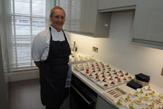 Flemings Mayfair suites and apartments launch party #minature #RosemaryShrager #dessert