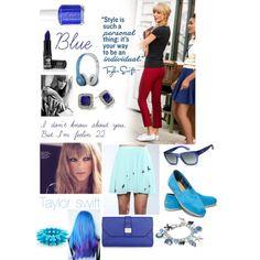 Taylor swift- blue