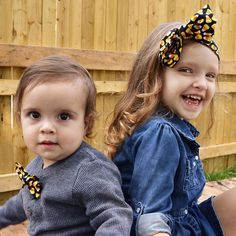 Brother sister matching.. too perfect!! Get your little ones matching bowtie & headwrap from https://instagram.com/olive_branch_creations/  #fall #fallfashion #headwraps #bigbows #baby #shop #handmade #shophandmade #babystyle #fashionablekids #shopsmall #fallheadwrap #cute #fallready #smallshop #Halloween #Halloweenheadwrap #halloweenshopping #matching #siblings #matchingsiblings #bowtie #fallbowtie #halloweenbowtie