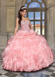 Quinceanera Dress style 80222 Q by Davinci!