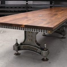 Brunel Table by Steel Vintage