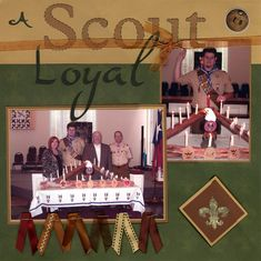 court of honor page layouts | Neighborhood Gossip: Boy Scout Layout Ideas and more....