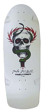 Mike McGill (First Version) · Powel Peralta (1984)