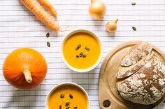 Rezept: cremige Kuerbissuppe!  Leckeres Herbstessen auf elbmadame.de #elbmadame
